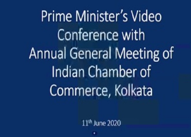 Hon'ble PM's Address to Indian Chamber of Commerce